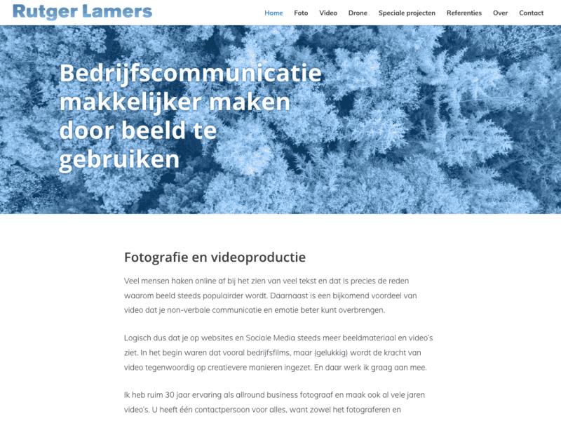rutger lamers fotografie en videoproductie